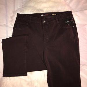 Style & Co. Slim Leg Women's Jeans